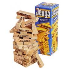 Jenga Build-Up Wooden Blocks