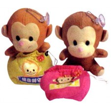 Stuffed Toy Hang-ups with Pouch