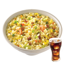 Yang Chow with Drink by Chowking