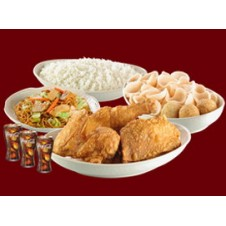 Family A Chinese Style Fried Chicken Lauriat by Chowking