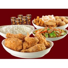 Family B Chinese Style Fried Chicken Lauriat by Chowking