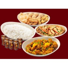 Family A Orange Chicken by Chowking