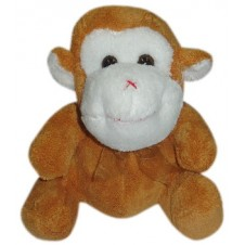 Monkey Plush Toy 10""
