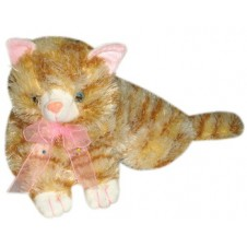 "Cat Plush Toy 15"" by Hugs & Kisses"