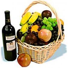 Christmas Fruits Wine