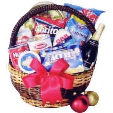 Around The World Christmas Basket