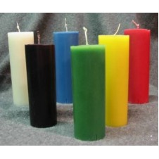 6 pcs Multicolor Candles
