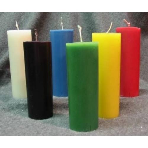 6 pcs Multicolor Candles
