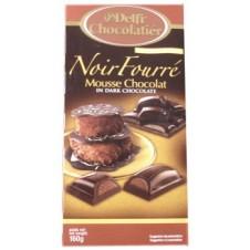 Delfi Noir Fourre Mousse Chocolate in Dark Chocolate