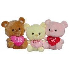 Bear with I Love You Heart Pillow (1pc)
