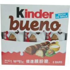 Kinder Bueno Rich in milk 6 Bars