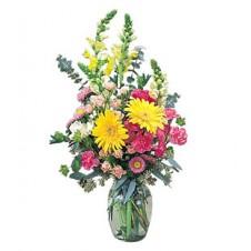 Flowers in a vase very nice