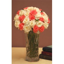 Promo Pink White in a Bouquet
