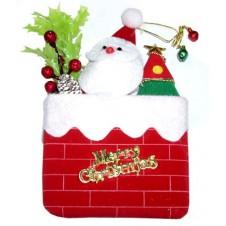 Little Santa Christmas Ornament