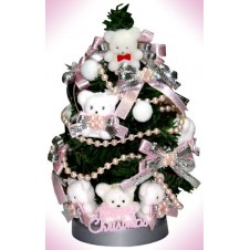 Little Christmas Ornament w/ Mini Bears