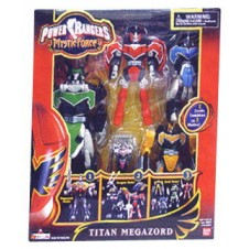 Power Ranger Titan Megazord