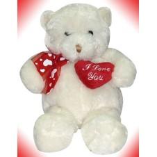 White Bear w/ I love You Heart
