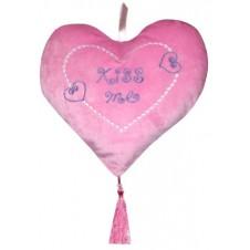 Kiss Me Pink Heart