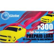 Globe Prepaid Card (300)