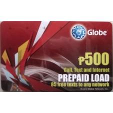 Globe Prepaid Card (500)