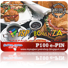 ISP Bonanza Prepaid Card