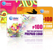 Globe Prepaid Card 100