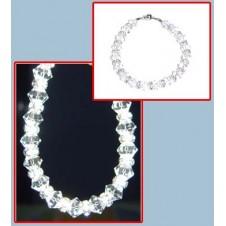 All Swarovski (Clear) Bracelet