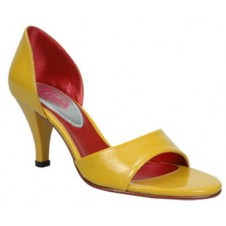 Ladies sandals with painted outer sole by Manels
