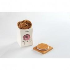 Fancy Cookie Jar -Flower by Mrs. Fields