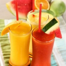Fresh Fruit Smoothies by Mrs. Fields