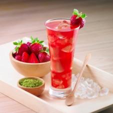 Strawberry Iced Tea by Mrs. Fields