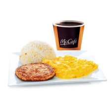 Sausage Platter with Rice by Mc Donalds