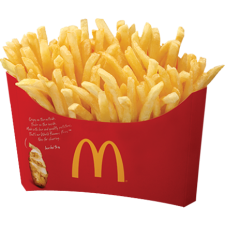 BFF Fries by Mc Donalds