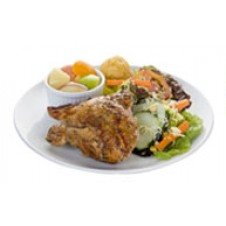 Classic Healthy Plate by Kenny Rogers