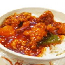 Sweet & Sour Pork on Rice by Superbowl