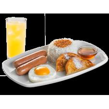 Breakfast Deluxe 2 Frankfurters by BonChon