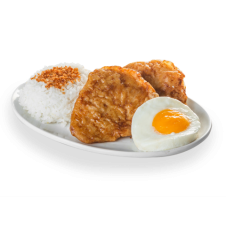 Breakfast Chops Ricebox by BonChon