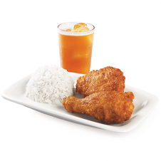 Drumstick & Thigh Ricebox by BonChon