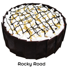 Rocky Road Dome by Bake & Churn