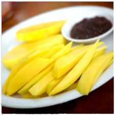 Green Mango with Bagoong by Gerry's Grill