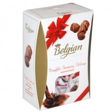 Belgian Seashells Truffle Milk Chocolate with Fantasy Filling