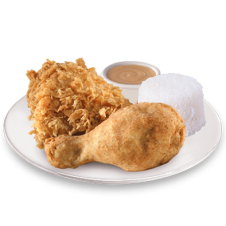 2pcs Chicken and Rice by KFC