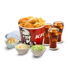 Streetwise Bucket Meal by KFC