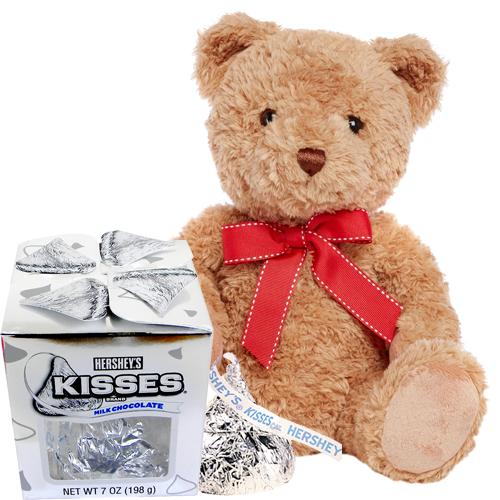 Hershey's Big Kiss with Teddy Bear