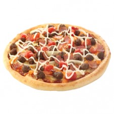 American Bacon CheeseBurger Pizza by Domino's Pizza