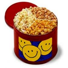 Cheerful Popcorn Tin