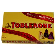 Toblerone Three Varieties in a Gift Box 3 x 100g