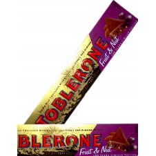 Toblerone Fruit & Nut Chocolate Bar 400g