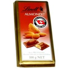 Lindt Almond Chocolate 100g