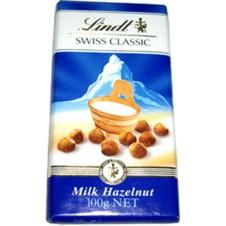 Lindt Swiss Classic Swiss Classic with Milk Hazelnut(100g)